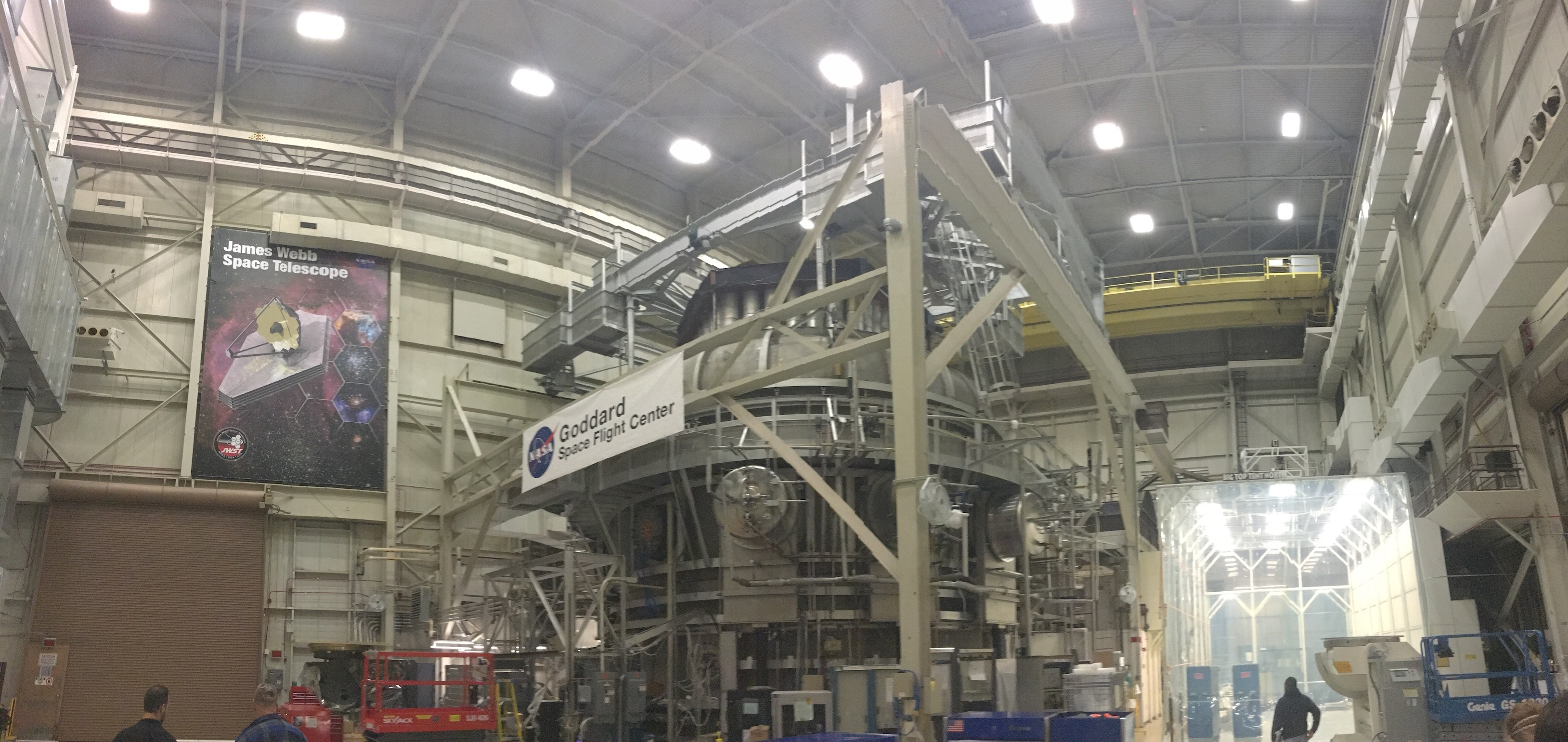 Thermal Vacuum Test Chamber for JWST